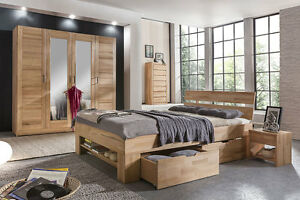 Komplettschlafzimmer No.3 Mia-Marlen Kernbuche massiv | eBay