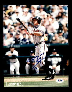Chipper-Jones-PSA-DNA-Coa-Hand-Signed-8x10-Braves-Photo-Autograph