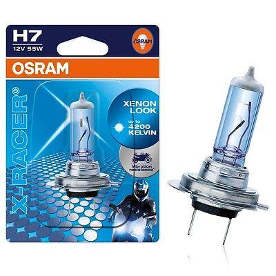 Osram H7 12V 55W PX26d X-Racer MotorradXenon Look  4200K 1st. 64210XR-01B