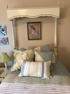 Details about REVISED* - Dixie Girls Bedroom Set - Vintage Twin Ivory Gold  French Provincial