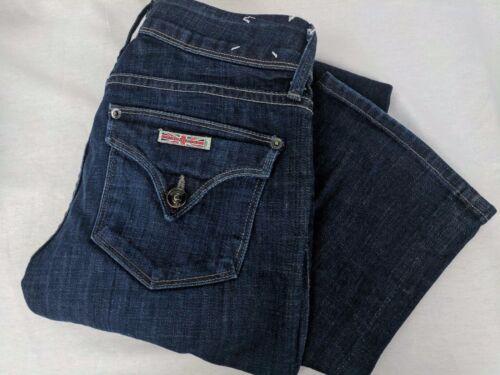 Hudson Womens Boot Cut Signature Nice Boot Wash Dark 26 Jeans Sz Bar1Bqdw