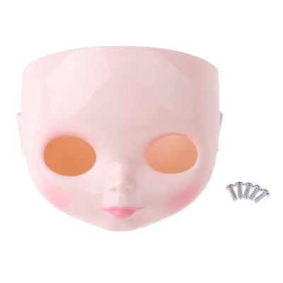"12/"" Doll Faceplate Backplate Head Scalp Shell Eyes Mechanism Set for Blythe"