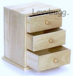 Details About Chest Of Drawers Unfinished Furniture For American 14 To 18 Doll Lovvbugg