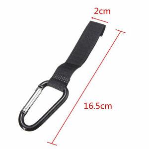 2pcs-Universal-Pram-Stroller-Pushchair-Bag-Hooks-Carabiner-Stroller-Clips-Good