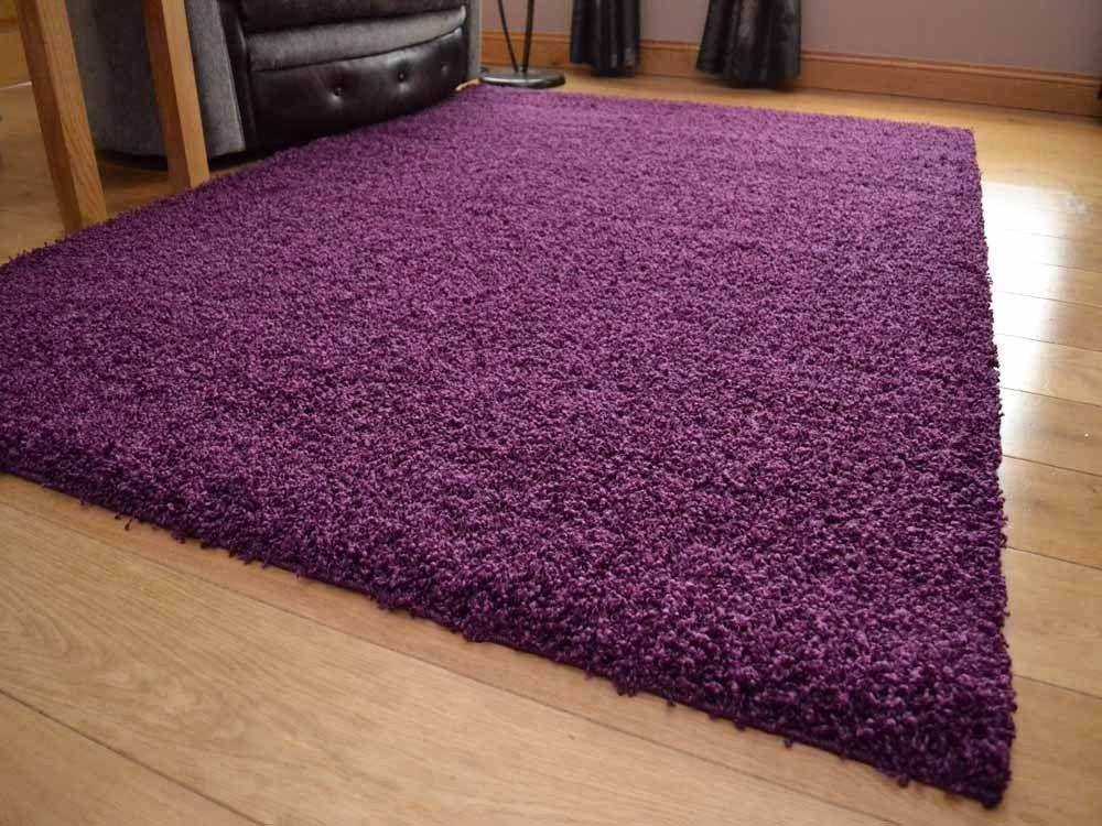 Mattex doux moelleux doux Mattex shaggy 5cm d'épaisseur plaine tapis non hangar sol rugs tapis 160x230cm b868ff