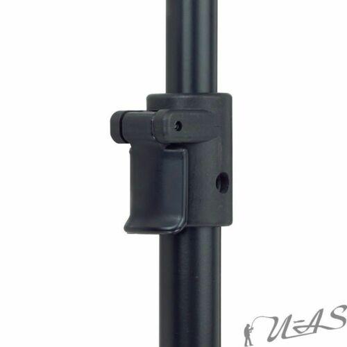Spar Set 6x Top Alu Screw Bankstick 110-200cm Bohrspitze Erdspieß Storm Pole