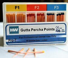 Pyrax H Amp W High Quality Assorted Protaper Gutta Percha Point F1f2f3