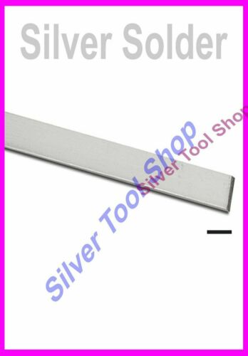 Silver Easy Grade Solder 300mm for Jewellery and Silversmithing Jewellers Hallma