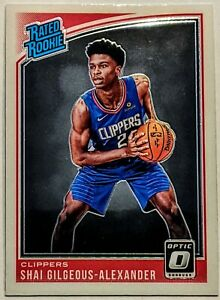 2018-19-Panini-Optic-Shai-Gilgeous-Alexander-Base-Rated-Rookie-Hot-RC