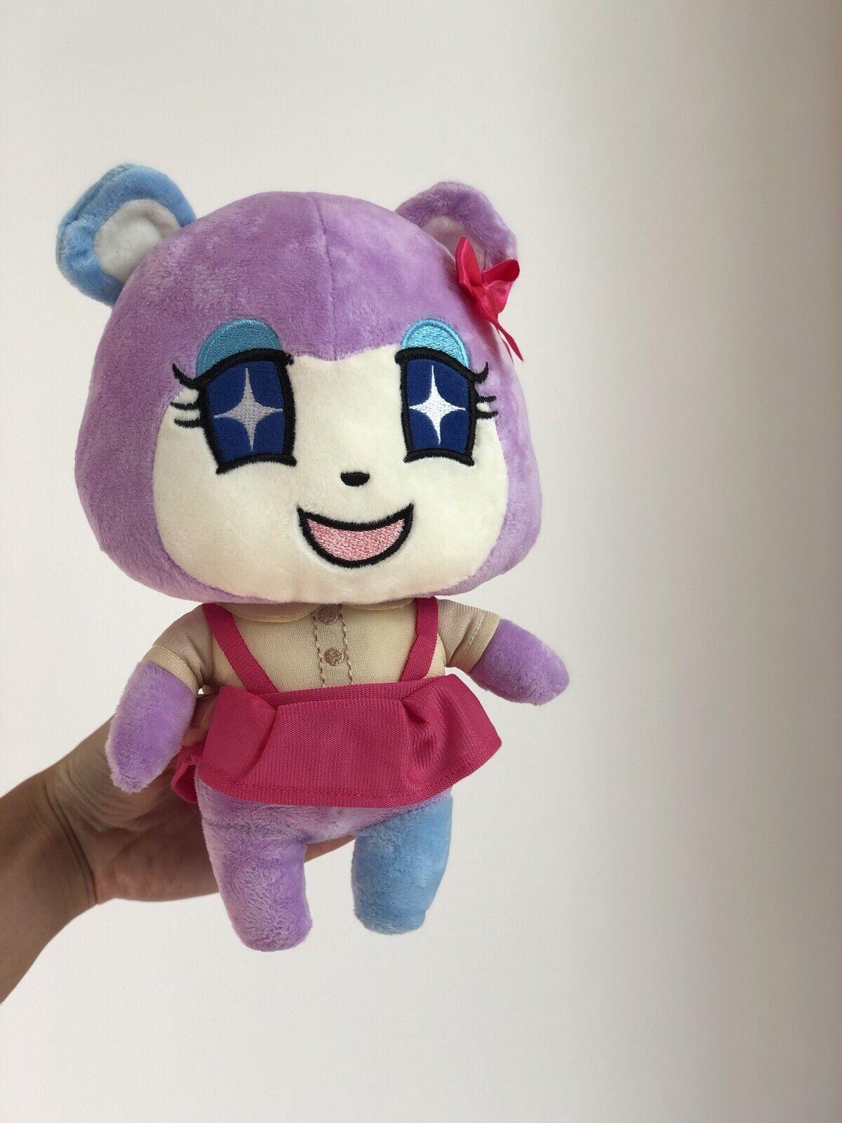 "10/"" Anime Love Live Nico Yazawa Cosplay Plush Doll Soft Stuffed Toy Cute Cats"