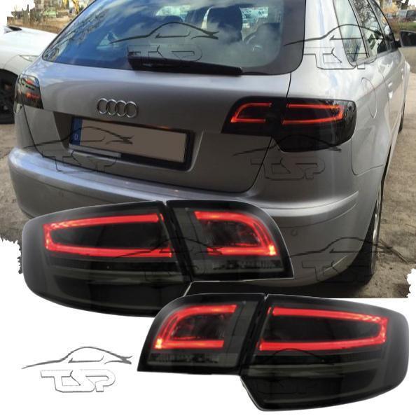 Rear Tail LED Bar Light Smoke for AUDI A3 8p 8pa 04-08 Sportback Lamps