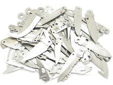 Misc. Lot 70 Vtg Schrade USA Folding Pocket Knife Tool Blade Blank Making Part