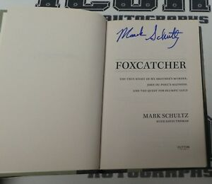Mark-Schultz-Signed-Foxcatcher-Book-BAS-Beckett-COA-1984-Olympics-Wrestling-Gold