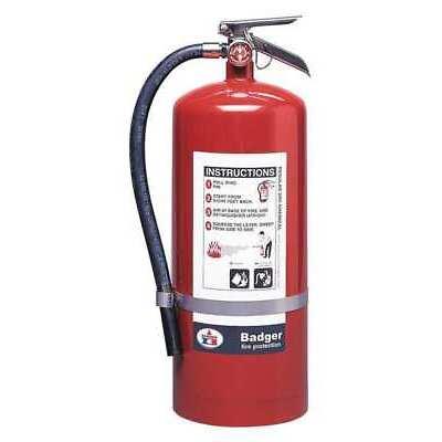 Fire Extinguisher, 120B:C, Dry Chemical, 20 lb. BADGER B20BC