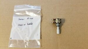 Sansui A-40 amplifier bass or treble control potentiometer 10156200