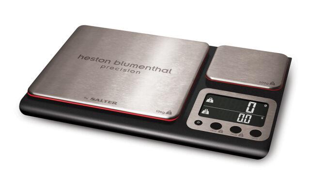 Salter 1049 HBBKDR Electronic Heston Blumenthal Dual Precision Kitchen Scales