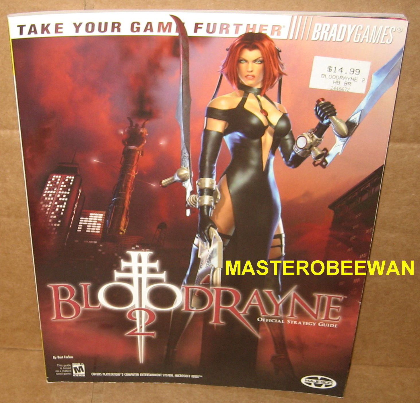 Bloodrayne 2 Official Strategy Guide By Bart G Farkas 2004