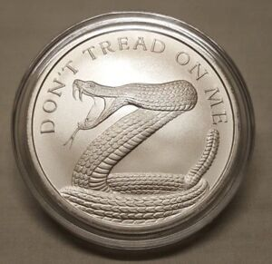 2018 Silver Shield 1oz Don T Tread On Me 999 Fine Silver