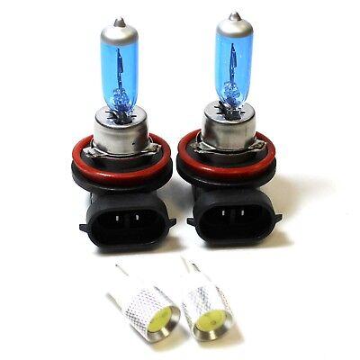 Fits Nissan X-Trail T31 55w Super White Xenon HID High//Low Beam Headlight Bulbs