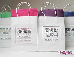 Personalised paper bags