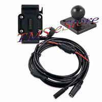 Garmin Zumo 660 660lm Gps Motorcycle Cradle Mount & Power Cable 010-11270-03