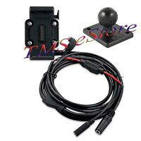 Garmin Zumo 660 660lm Gps Motorcycle Cradle Mount & Power Cable 010-11270-03
