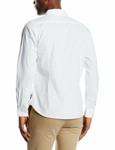T shirt Manica Slim French Stampa Poker Lunga Connection Dott Bianco T5qwHwf7En