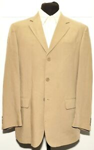 Great Austin Reed Summer Linen Suit Beige Size 40 Regular 34 Waist Ebay