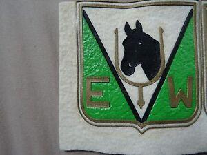 VINTAGE PATCH PVC ? E U W / E W HORSE CLUB RARE