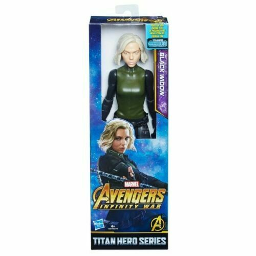"Black Widow 12"" Action Figure Marvel Avengers Infinity War Titan Hero Series"