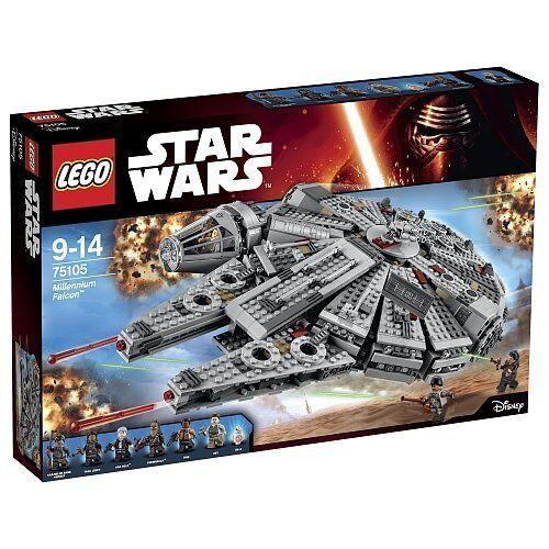 LEGO ® star wars ™ 75105 Millennium Falcon  ™ NEUF nouveau OVP MISB  mode classique