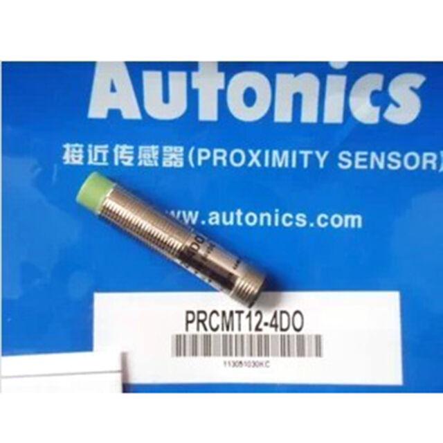 A● Autonics PRCMT12-4DO Proximity Sensors Inductive PNP New 1PC