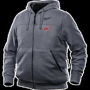 Milwaukee Mens 302G21 Grey Heated Hoodie Kit