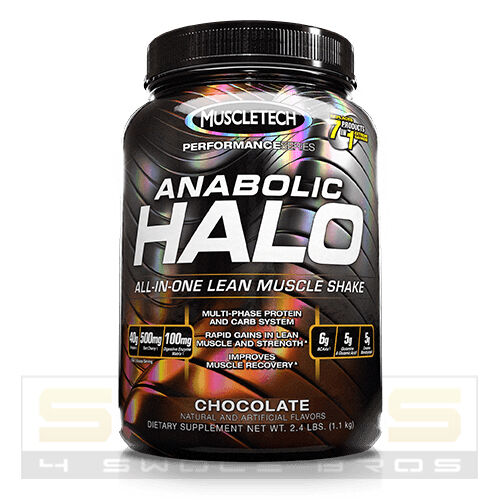Muscletech ANABOLIC HALO Chocolate - 2.4 lbs - FAST FREE SHIP - BEST PRICE!
