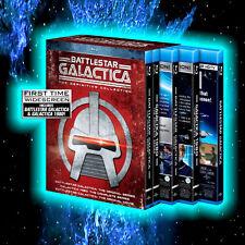 BATTLESTAR GALACTICA DEFINITIVE COLLECTION 18 DISCS BLU-RAY L@@K