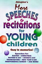 Abingdon's More Speeches &  Recitations for Young Children
