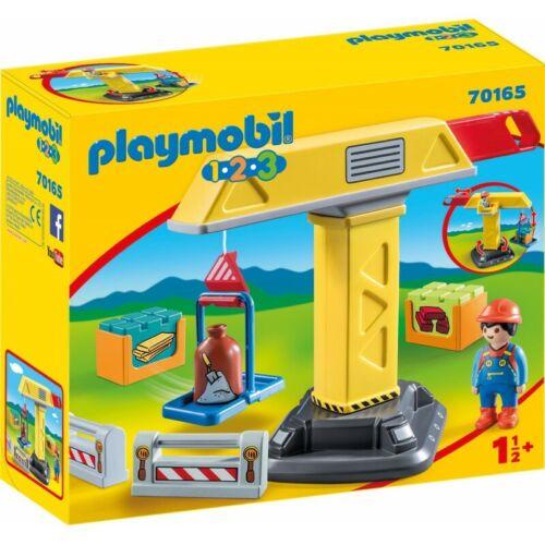 Playmobil-70165 Baukran