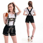 Sexy Oktoberfest Costume Fancy Dress Up German Heidi Dirndl Lederhosen Beer Maid