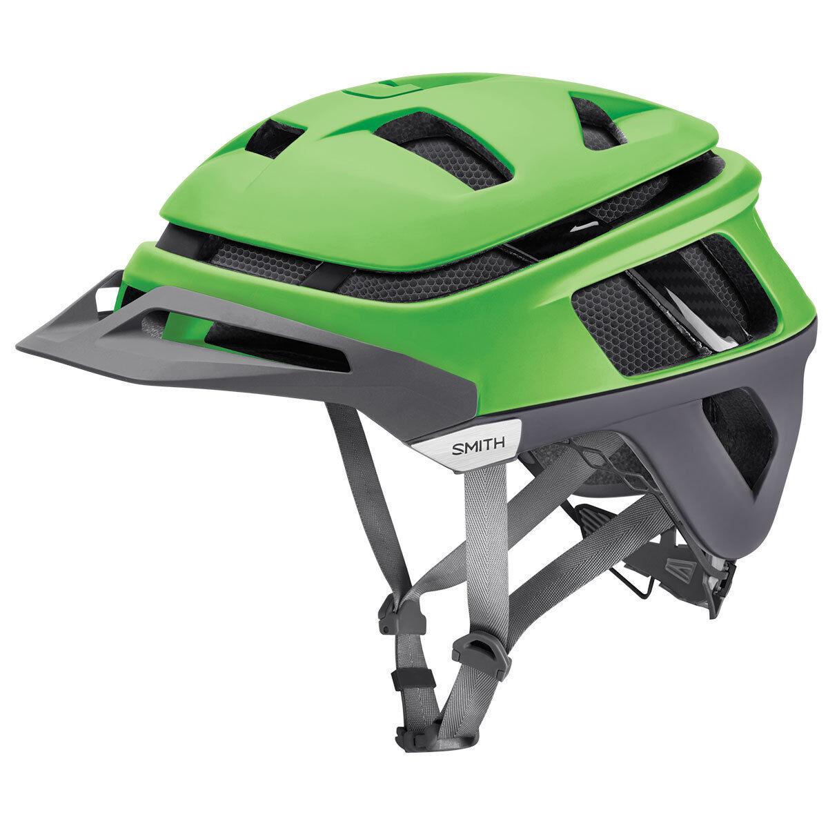 Smith Forefront Bicicletta MTB Casco verde Grigio W Koroyd S M L