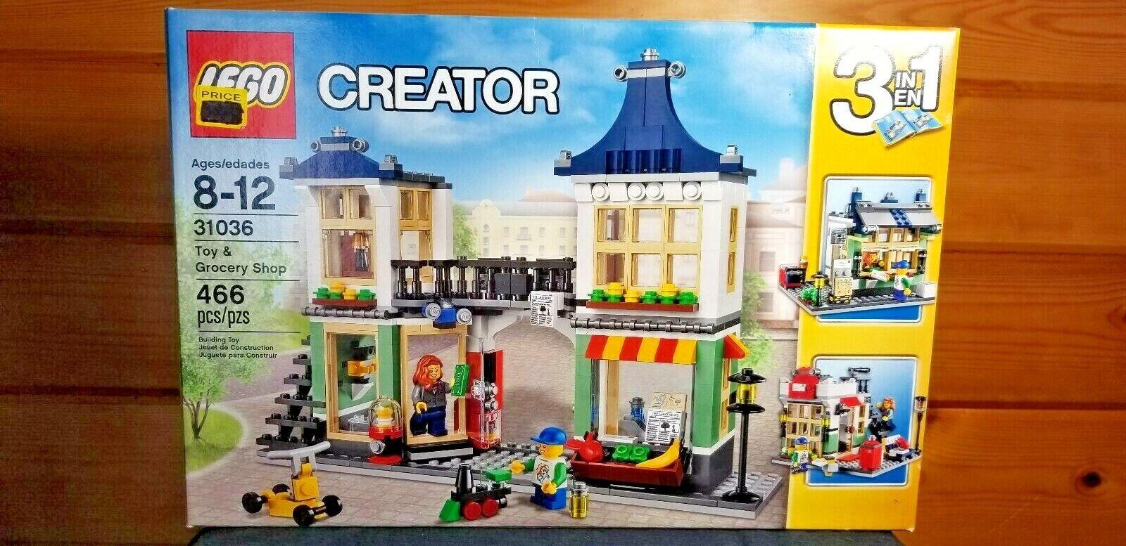 Lego   31036 Creator giocattolo & Grocery negozio  ordina ora i prezzi più bassi