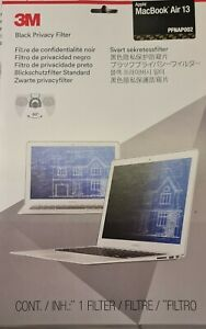 """3M Notebook privacy filter 13.3"""" wide black for Apple MacBook Pro"""