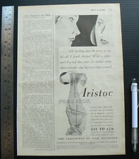 1931 vintage original ad ARISTOC SILK STOCKINGS advertisement British hosiery