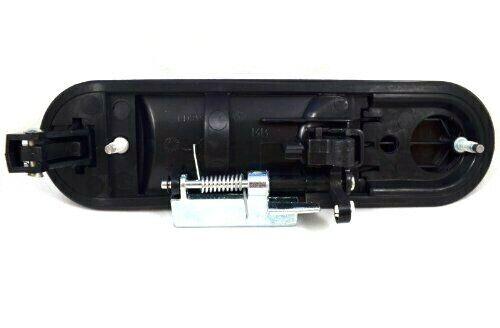Exterior LH REAR Door Handle Black Textured for 2002-2010 EXPLORER MOUNTAINEER