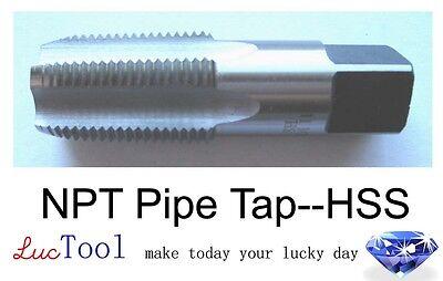3//4-14 NPS Pipe Tap HSS Straight Pipe Thread Bright Inner Threading Premium