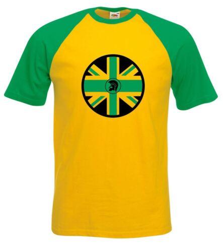 Bob Marley Rasta Festival Trojan Jamaican Flag Reggae Men/'s Baseball T-shirt