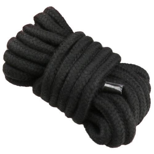 Bondage-Corde-Play-Sangle de retenue-Small Medium-Fetish-jeux 5//10m Adulte-Sexe-Soft-Coton