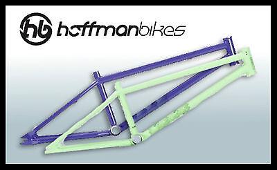 "Hoffman Bikes 20.5"" BMX Mantra Frame Cromoly Purple"