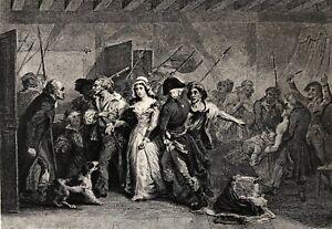 Charlotte-Corday-Mort-de-Marat-10064-French-of-1789-Engraving-Xixth-France
