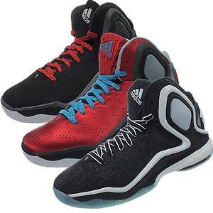 best sneakers 42338 3cf0b Das Bild wird geladen Adidas-D-Rose-5-Herren-Basketballschuhe -Basketball-Stiefel-