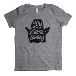 Dale Brisby/'s You Ain/'t No Cowboy Youth T-Shirt